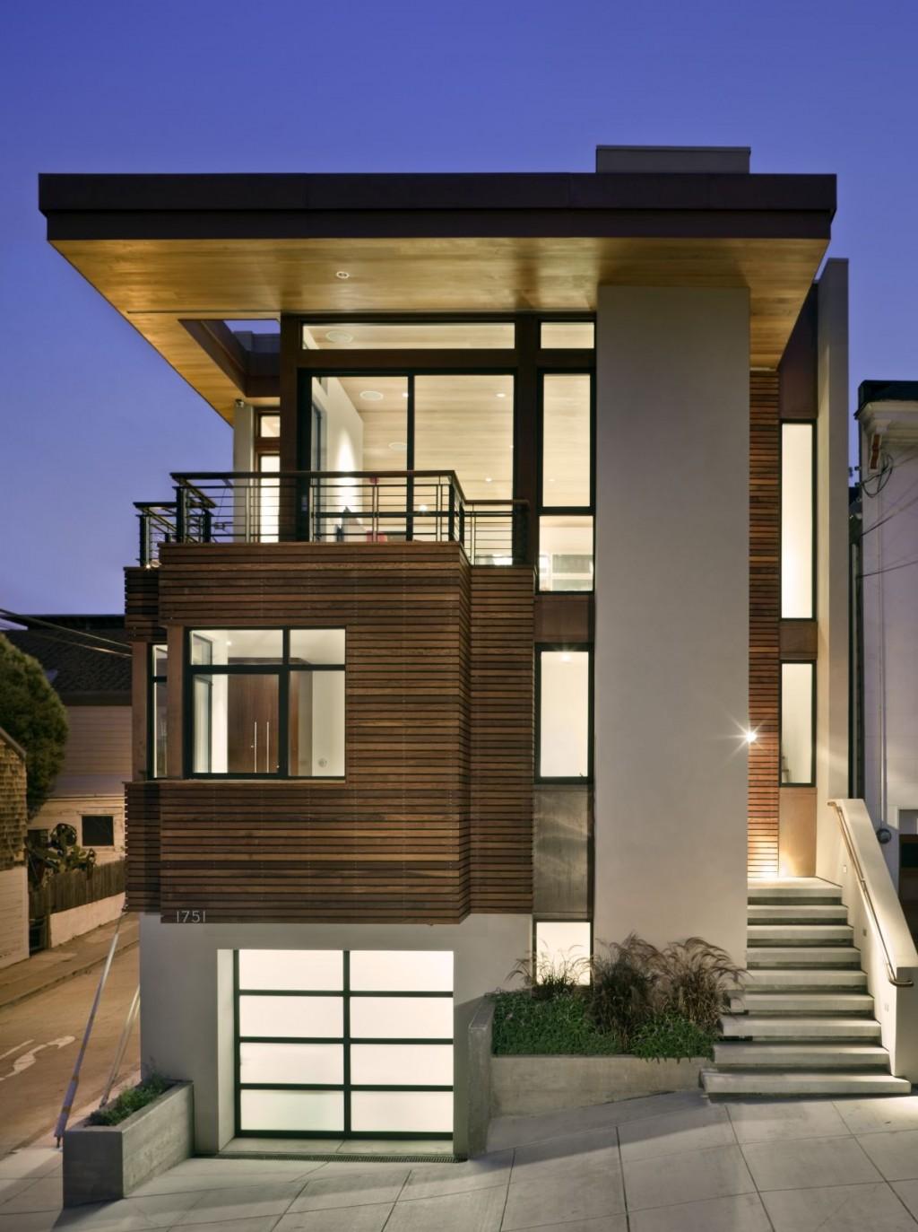 Foto Rumah Minimalis Elegan 2 Lantai Desain Rumah Minimalis