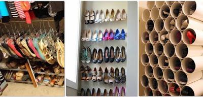 Ideas para organizar el calzado
