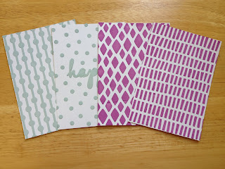 Stampin Up Happy Patterns stencils www.tinascreativestudio.com