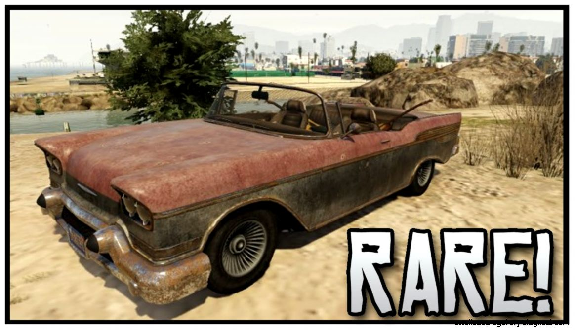 how to find rare cars in gta 5 online