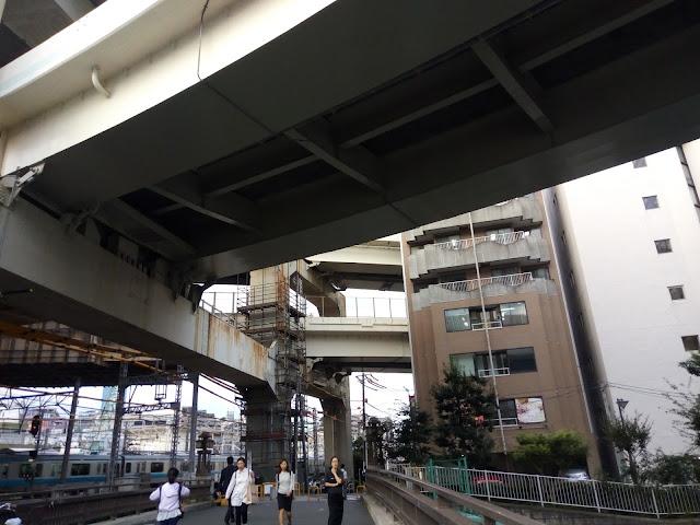 横浜 立体橋
