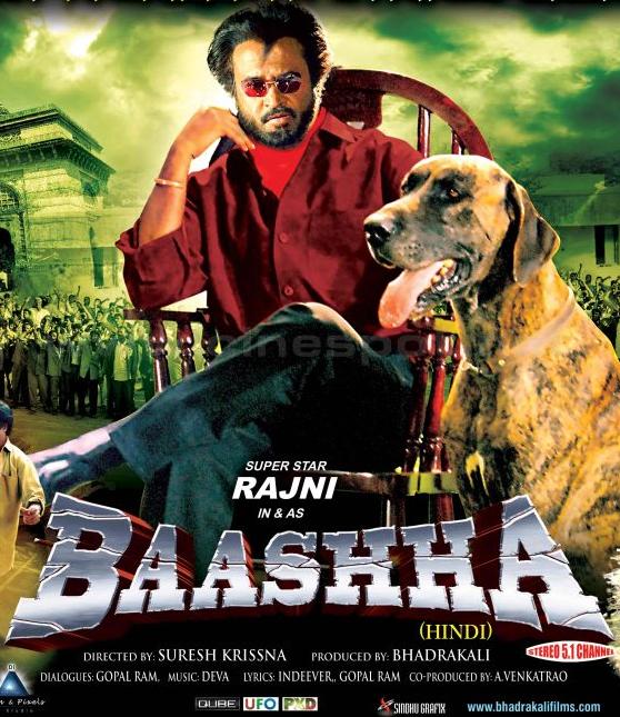 Baasha 1995 Hindi Dubbed Full Movie 720p HDRip