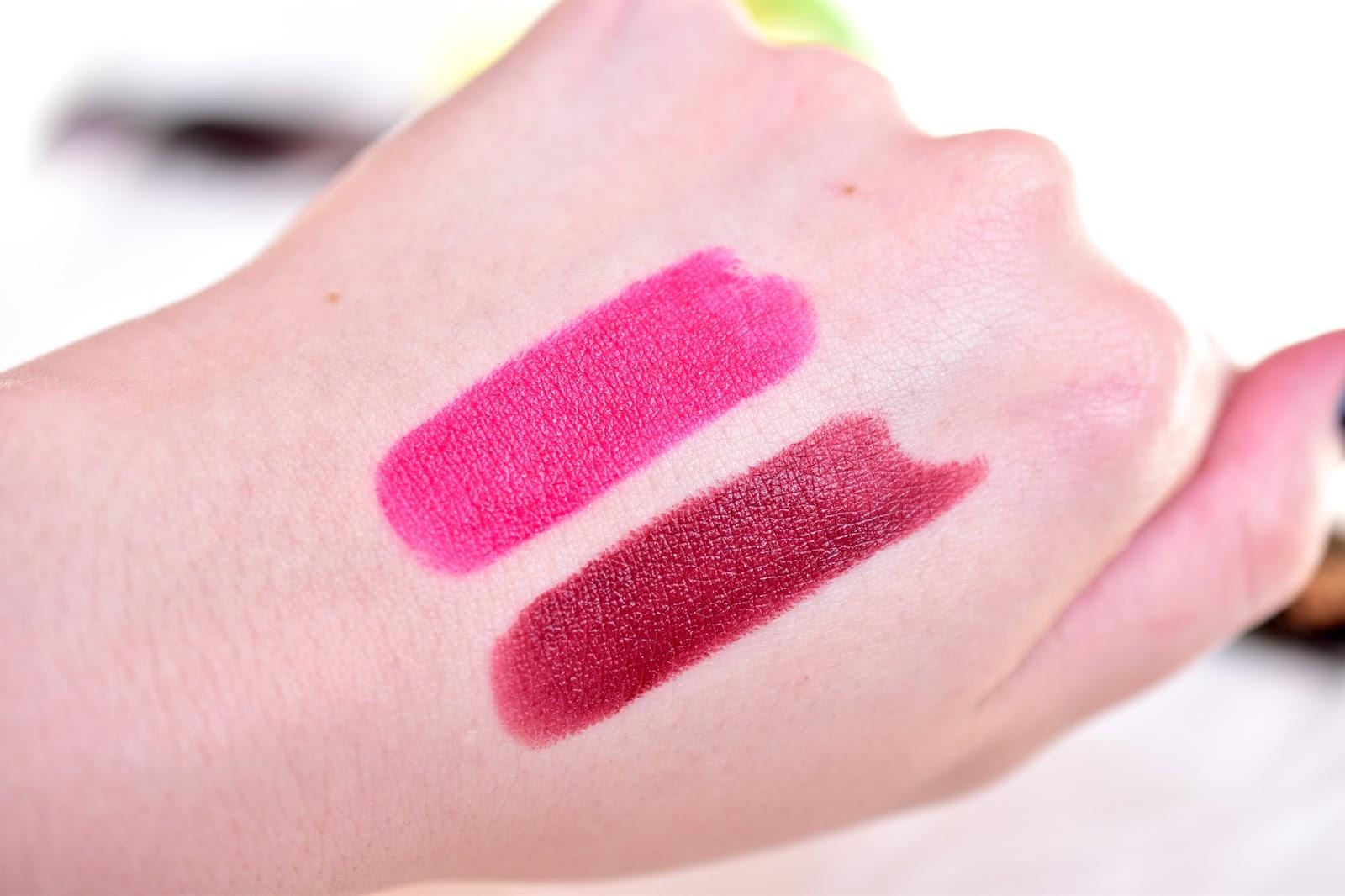 dermacol pretty matte lipstick swatche 07 a 17