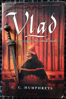 Portada del libro Vlad, de C. C. Humphreys