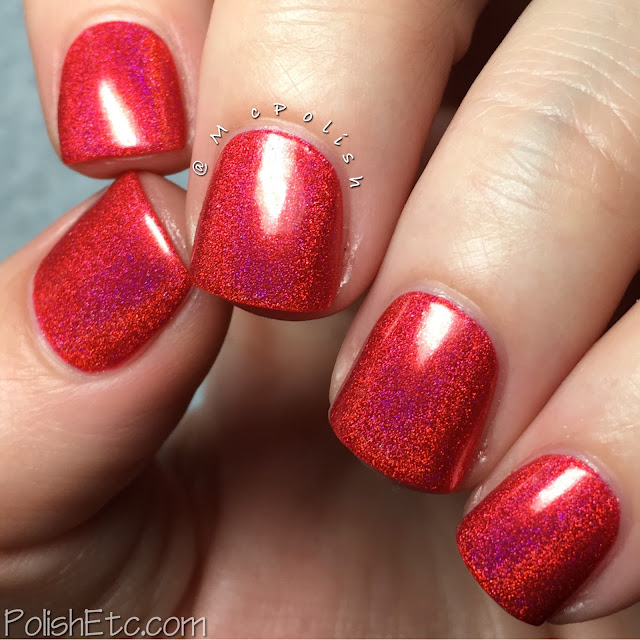 Nine Zero Lacquer - ROY G BIV Collection - McPolish - Refraction