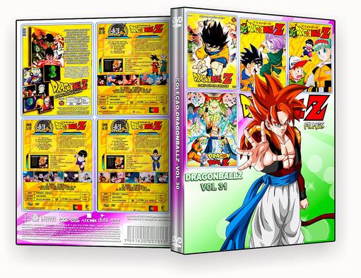 CAPA DVD – Dragon Ball Z Filmes 4 em 1 Vol.31 – ISO