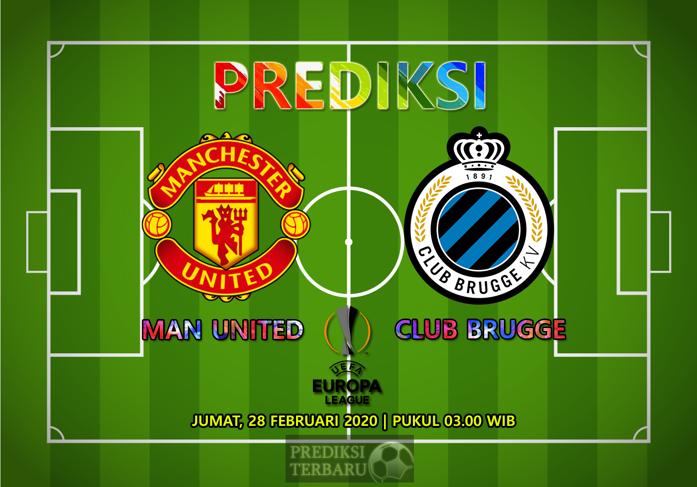 Prediksi Manchester United Vs Club Brugge Jumat 28 Februari