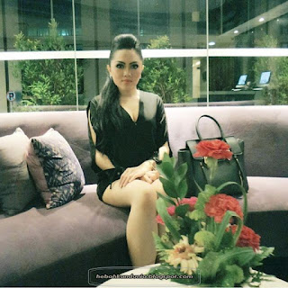 foto seksi instagram Malenna grace
