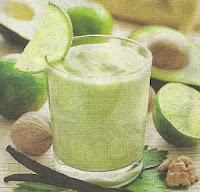 Состав продуктов и способ приготовления напитка Банановый Смузи