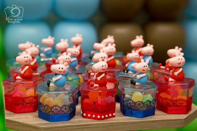 Lembrancinhas Peppa Pig Jujuba