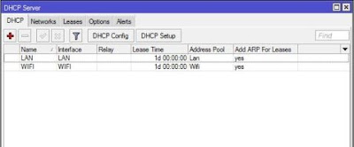 Setting DHCP Server Mikrotik SandroidTeam