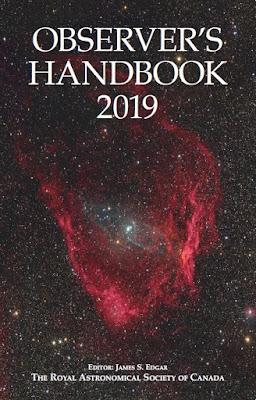 Observer's Handbook 2019 edition