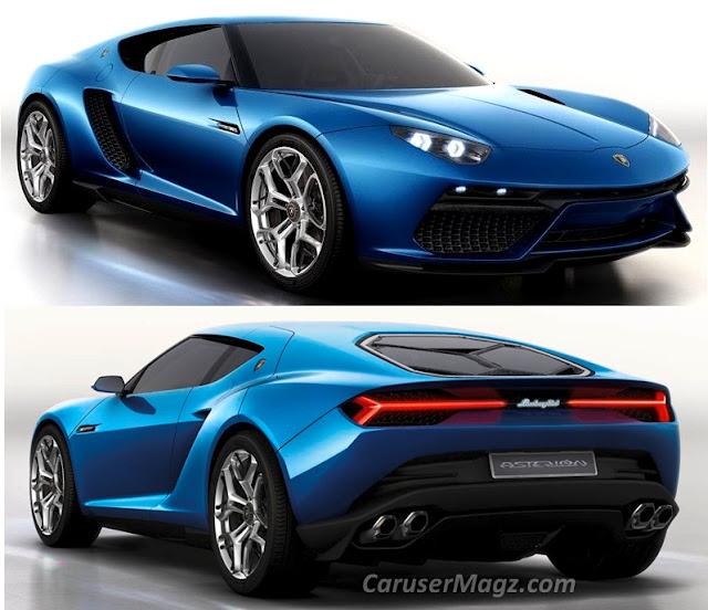 Lamborghini Asterion Eksterior Design yang Elegan