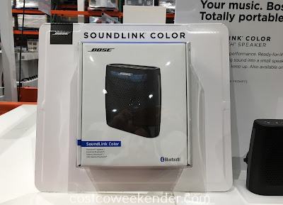Take your toddler and/or young child for a ride in the Bose SoundLink Color Bluetooth Speaker