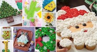 Εντυπωσιακές τούρτες με Cupcakes