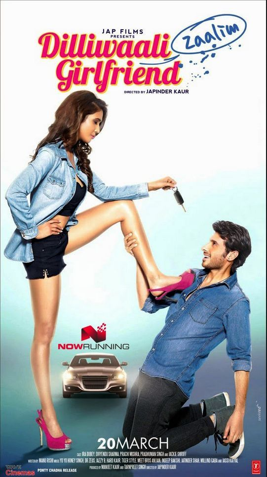 Dilliwaali Zaalim Girlfriend 2015 Hindi [720p + 480p] HDRip 1GB Download