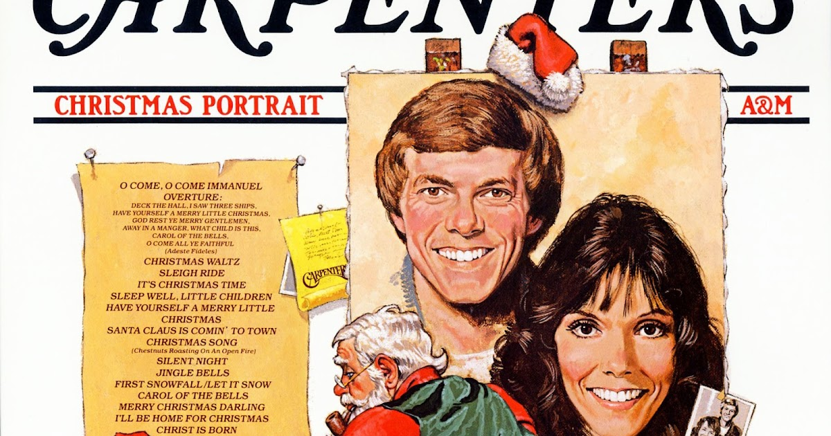 Carpenters Christmas Portrait.Unforgettable Christmas Music The Carpenters Christmas