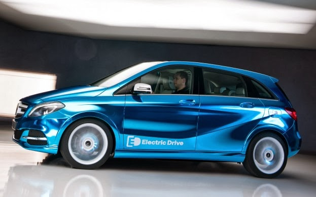 Mercedes Benz Clase B Electric Drive