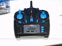 JJRC H25 Quadcopter Transmitter - Front View