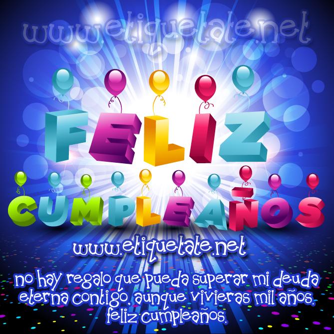 64 Imagenes De Feliz Cumpleanos Para Etiquetar En Faceb En Taringa - Tarjeta-felicitacion-cumpleaos-original