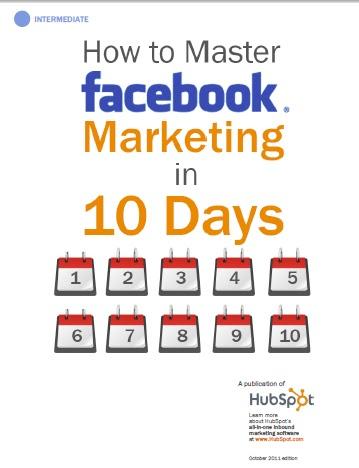 كتاب كيفية السيطرة على الفيسبوك وستغلاله في التسويق خلال 10 أيام.