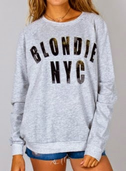 Blondie NYC Fleece Top