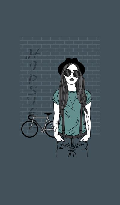 Hipster Girl Style III