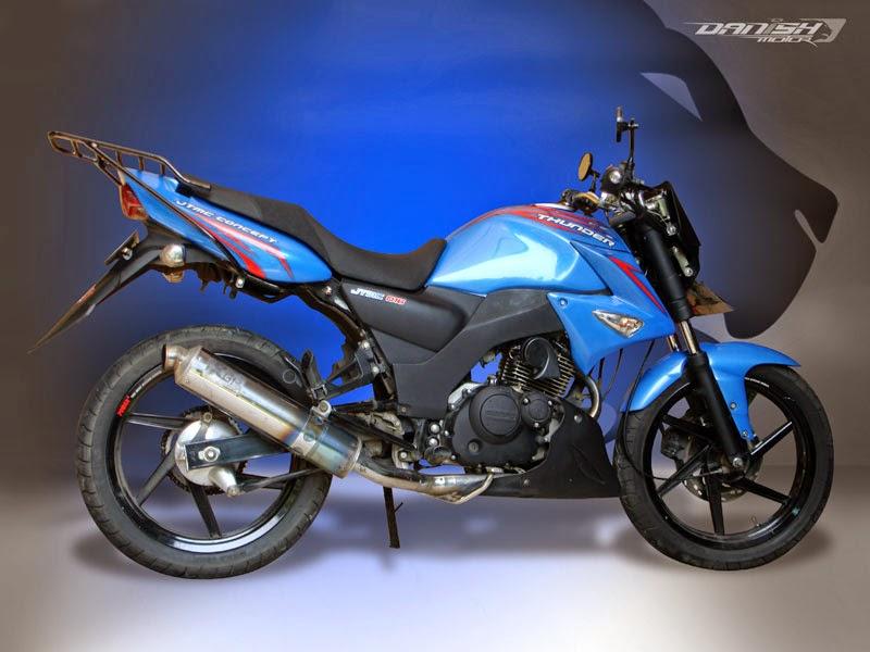Foto Modifikasi Motor Suzuki Thunder 125 Terbaru