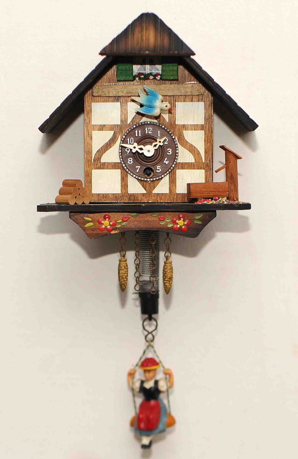 Old Vintage Gallery Mini Cuckoo Clock 2