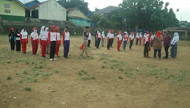 Berikan Yang Terbaik Paskibra Kecamatan Tamansari Rela Latihan Berpanas-panasan