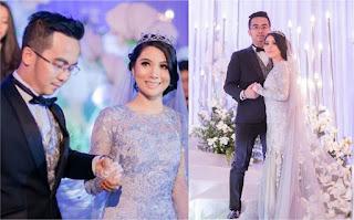 Perkahwinan Artis Malaysia 2018, Penceraian Dan Perkahwinan Artis Malaysia 2018, Pernikahan Artis Malaysia, Selebriti Malaysia, Penyanyi, Pelakon, Pelakon Elvina Kahwin, Perkahwinan Elvina dan Dato Haniff Borhan,