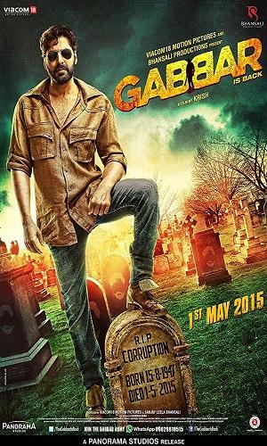 Gabbar is Back (2015) 350Mb Full Hindi Movie Download 480p Bluray