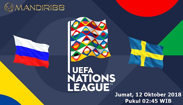 Prediksi Rusia Vs Swedia, Jumat 12 Oktober 2018 Pukul 02.45 WIB
