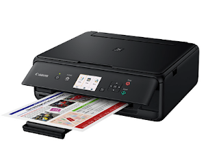 is sure indicated to last utilized every bit a menage multifunction printer  Canon PIXMA TS5070 Driver Download