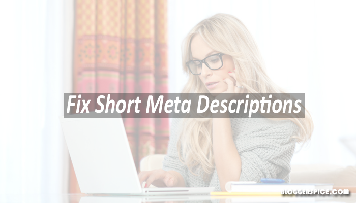 short Meta descriptions