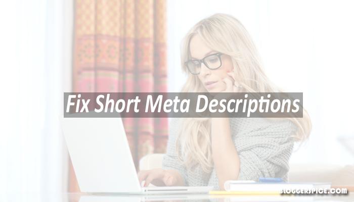 short Meta descriptions