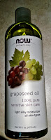 grapeseed oil good for skin wrinkles moisturizing