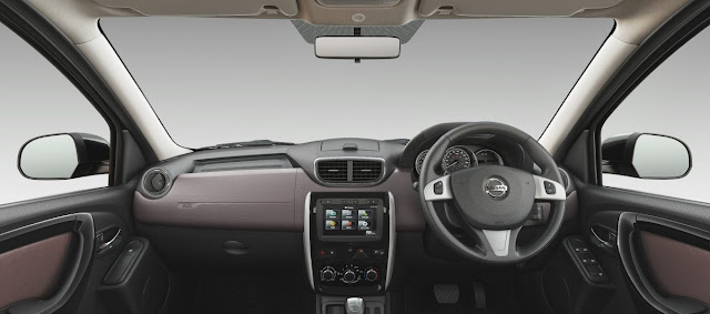 2017 Nissan Terrano launched in India Interiors