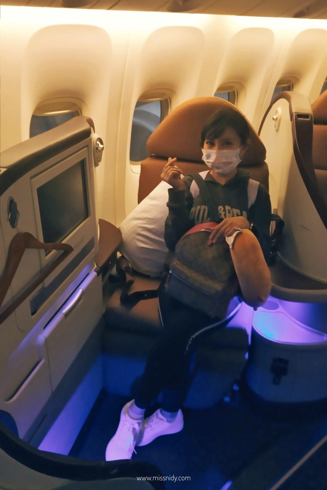 pengalaman naik jet airways