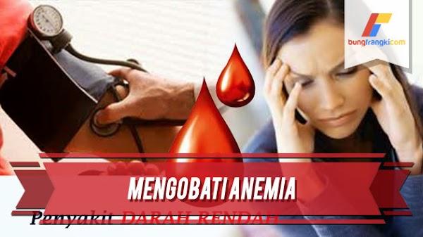 Cara Alami Mengobati Darah Rendah Atau Anemia