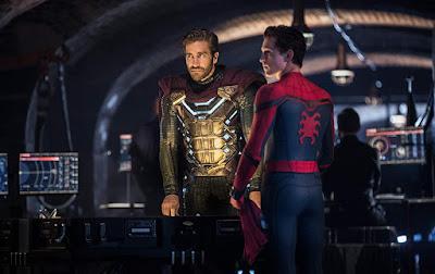 Spider Man Far From Home Jake Gyllenhaal Tom Holland Image 1