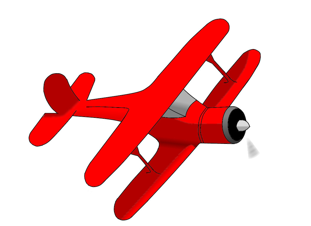 clipart picture of an airplane - photo #3