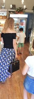 Falda larga verano hecha a mano