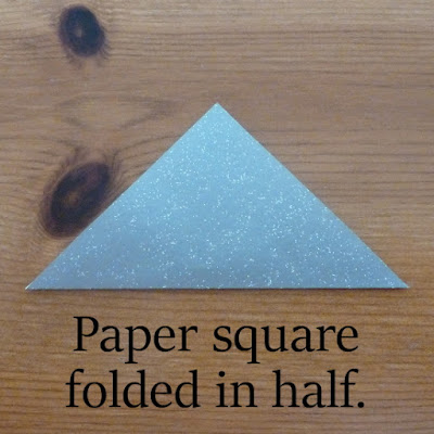 triangle silver paper how to make paper star decorations