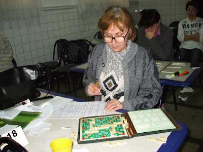 Maestra Sportului Claudia Ana Mihai la tabla