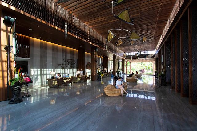 Mövenpick resort & SPA Jimbaran a Bali-Reception