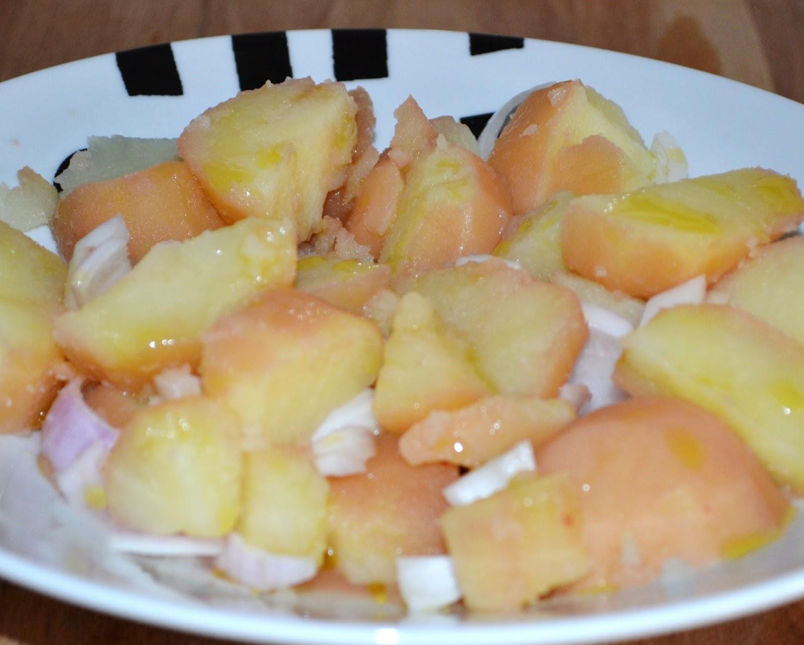 Voluntades dehoynopasay patatas cocidas en el caldo de - Tiempo de cocer patatas ...