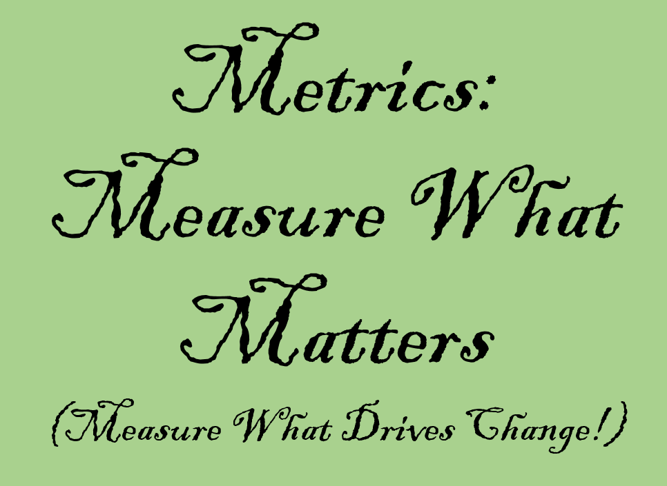 Be a Customer Experience Leader. Measure the Right Way.