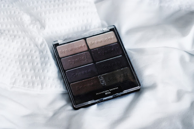 Black Radiance Eye Appeal Shadow Collection in Downtown Browns