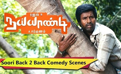 Nayandi Soori Comedy | Back 2 Back | Soori Comedy Collection